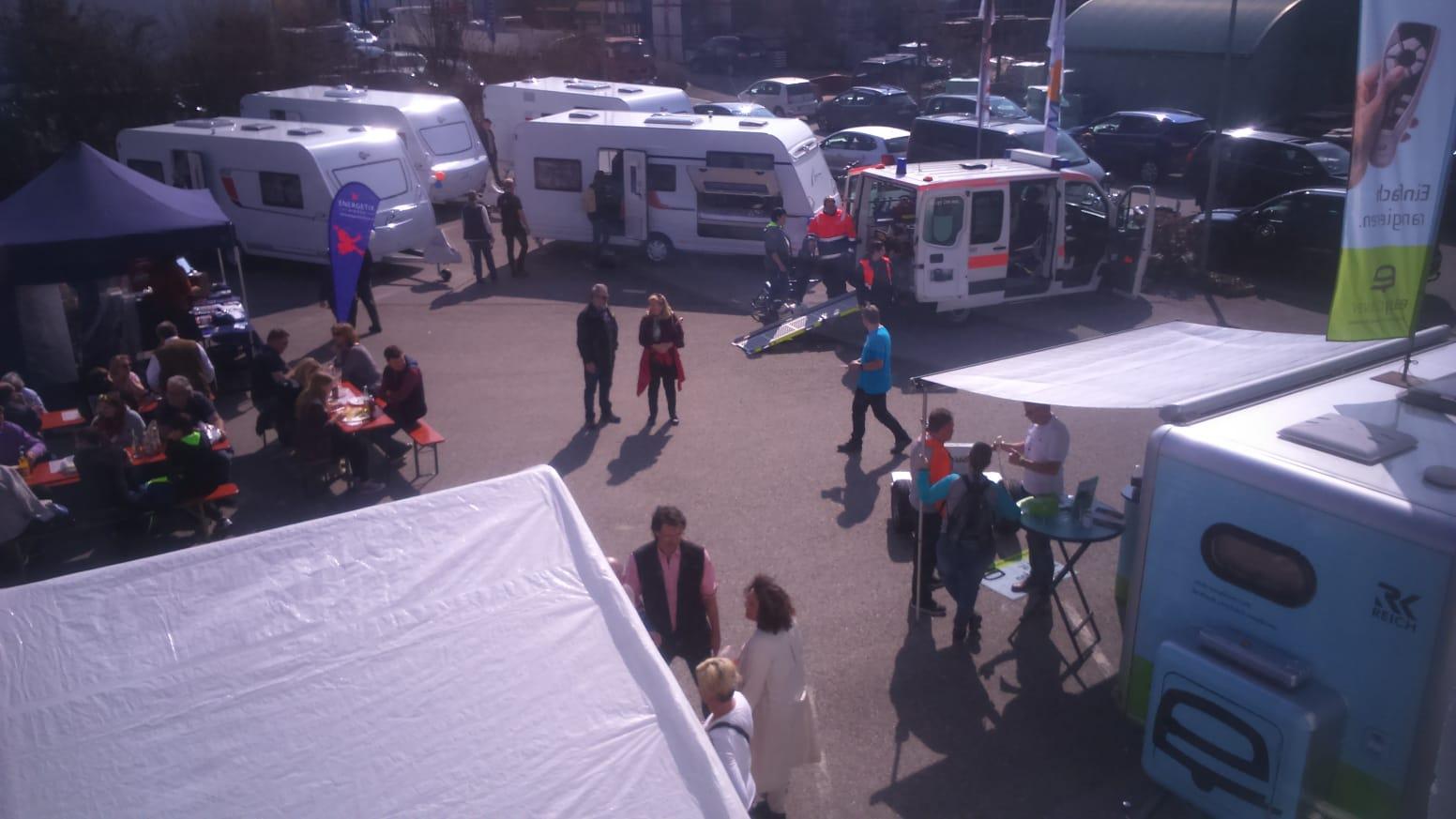 Hausmesse 2019 Caravan Langrock